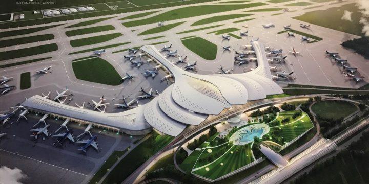 Giới thiệu 9 mẫu thiết kế kiến trúc sân bay Long Thành