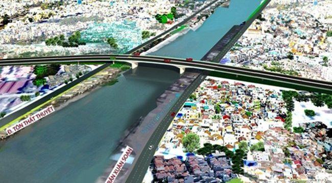 TP HCM muốn mở đường hơn 5.400 tỷ để nối quận 4 và 7