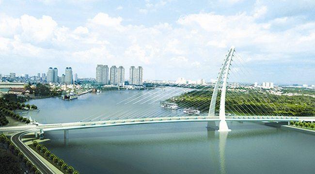 TP HCM muốn xây cầu Thủ Thiêm 4 nối quận 2 và 7