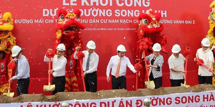 Chi 800 tỷ đồng xây đường song hành cao tốc TP HCM – Long Thành