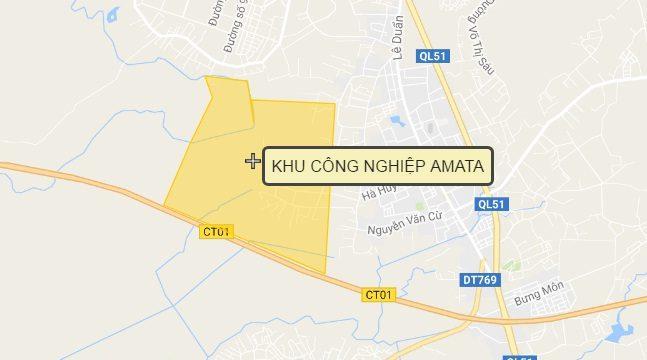 Quy hoạch hơn 410ha cho Khu công nghiệp AMATA Long Thành