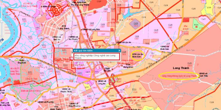 Duyệt quy hoạch dự án Amata City Long Thành 2.559 ha