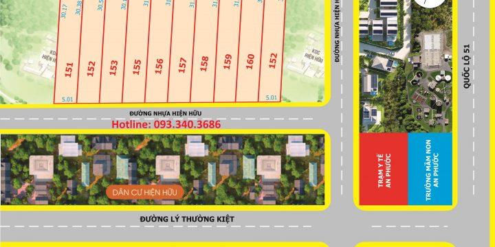 Bán đất Thổ cư xã An Phước, gần trường học 150m2 Full Thổ cư 100% Sổ riêng!