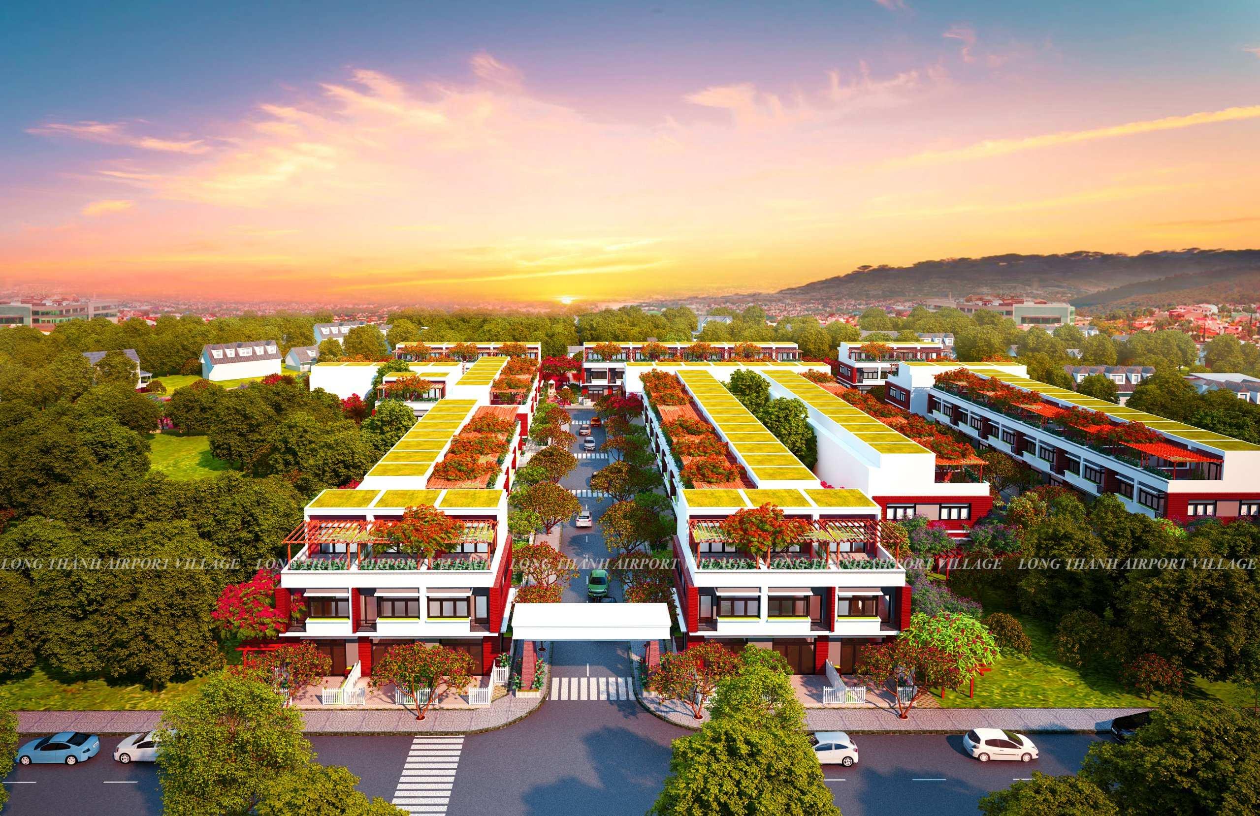 đất nền dự án long thành airport village