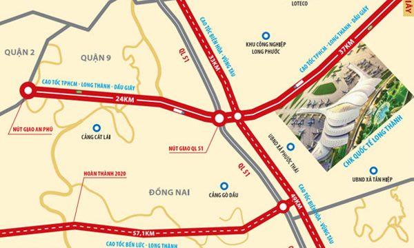 Cơ chế bồi thường của 2 tuyến đường kết nối vào Sân Bay Quốc Tế Long Thành