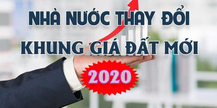 Chính Phủ Ban hành Khung Giá Đất mới GĐ 2020 – 2024 – NĐ 96/2019-NĐ-CP