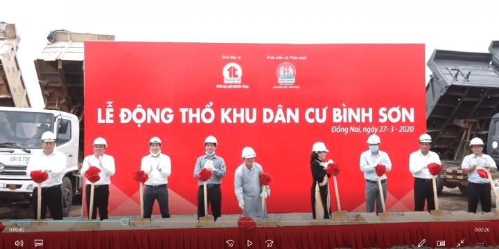 Lễ Động Thổ Khởi công dự án Khu Dân cư Bình Sơn – KIM OANH GROUP