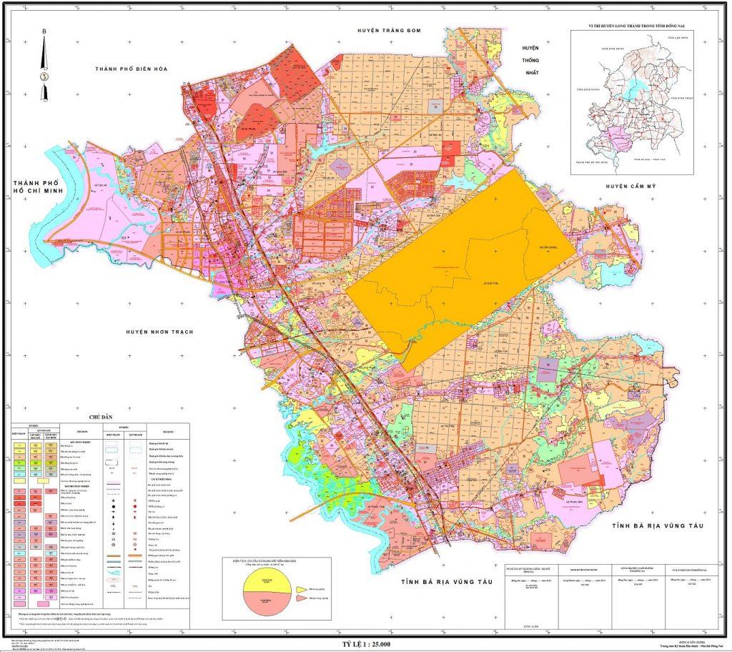 quy hoạch huyện long thành 2021