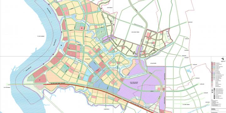 Quy hoạch Khu Phức hợp Công nghiệp Đô thị – Dịch vụ Long Thành 2559 hecta