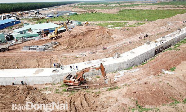 Tăng tốc tiến độ xây dựng Khu Tái Định Cư Lộc An – Bình Sơn huyện Long Thành