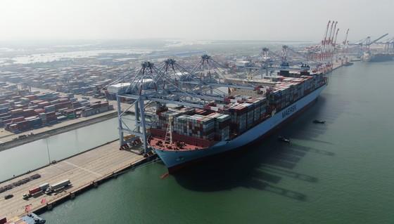 Cảng Cái Mép Thị Vải – Bà Rịa Vũng Tàu đón tàu Container lớn nhất Thế Giới