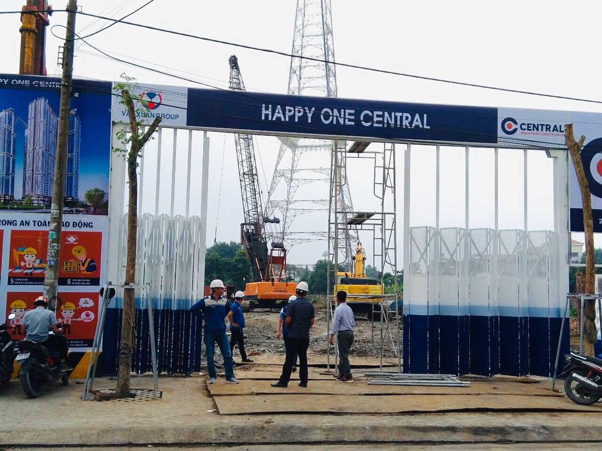 thực tế dự án happy one central