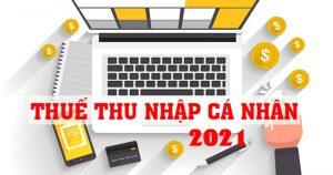 tính thuế tncn 2021