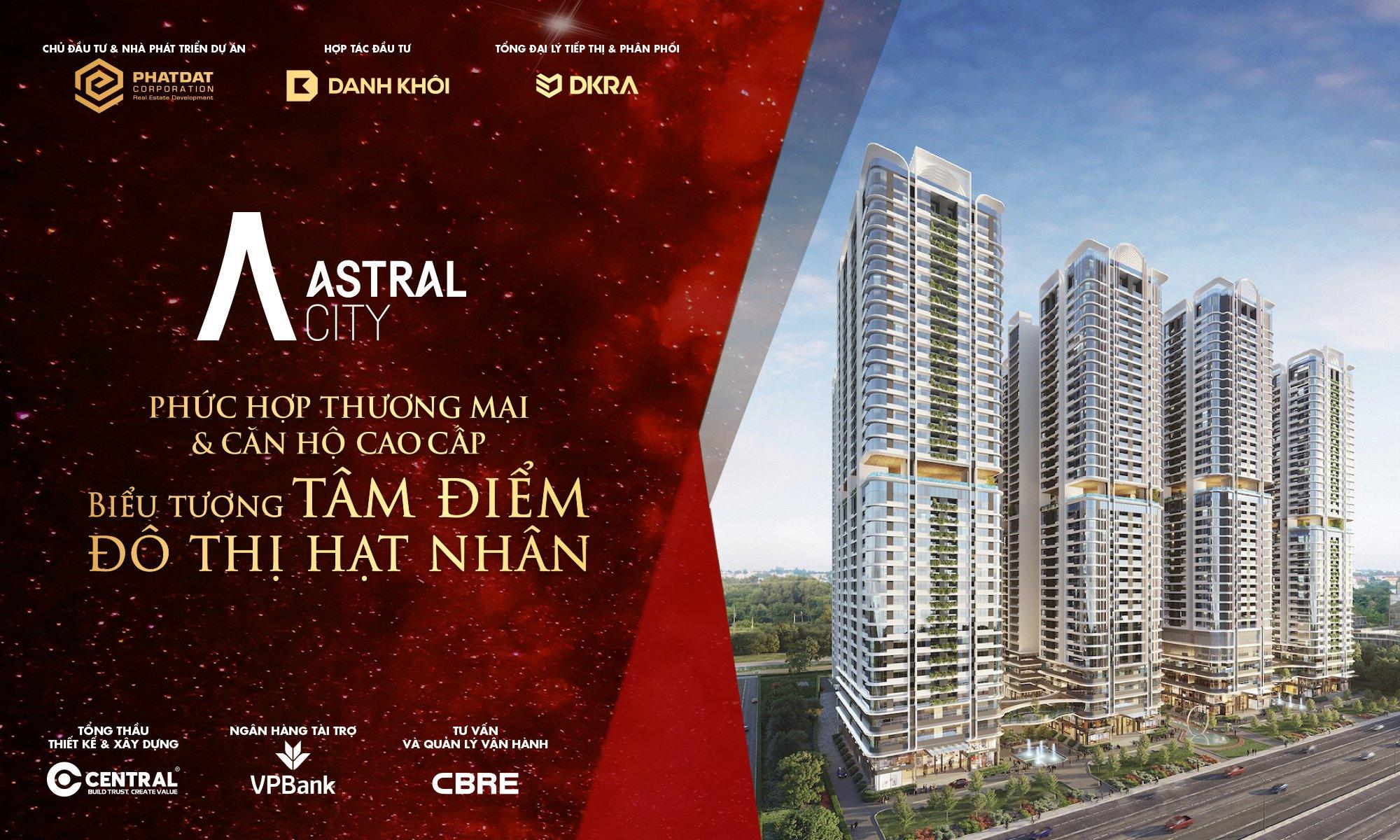 bảng giá dự án Astral City