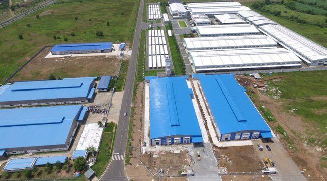 Khu công nghiệp AMATA Châu Đức Bà Rịa quy mô 3800 ha